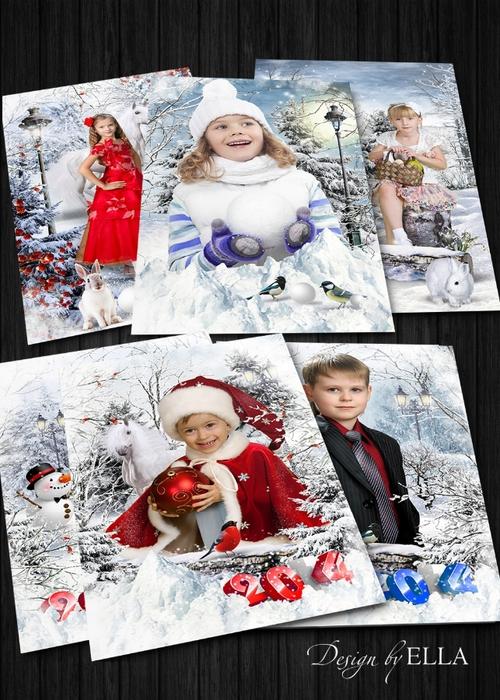 2 winter portraits (500x700, 325Kb)