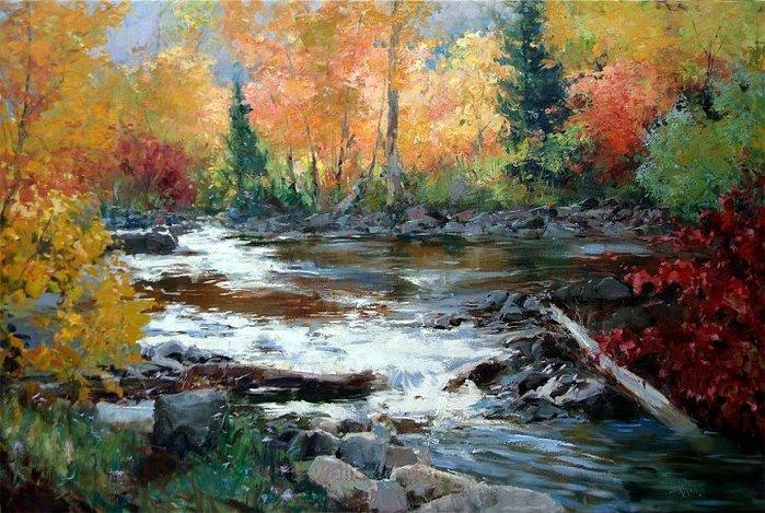 26925990_1_Eric_Wallis___Autumn_by_Stream40x60copy (699x469, 407Kb)