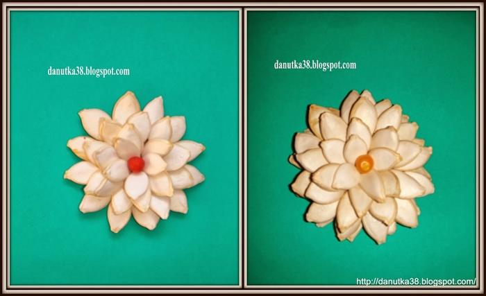 цветы из тыквенных семечек и листьев кукурузы (47) (700x427, 159Kb)