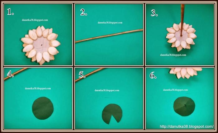 цветы из тыквенных семечек и листьев кукурузы (48) (700x427, 162Kb)