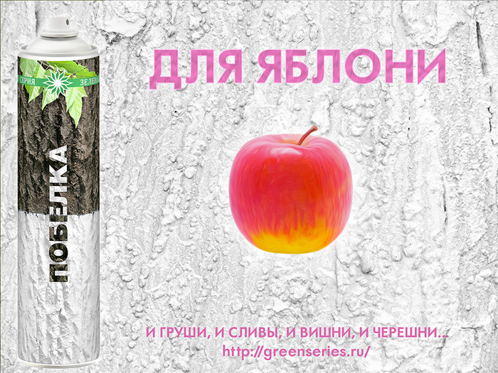 побелка яблони, чем белить яблоню, уход за яблоней, когда белить яблоню, побелка аэрозоль, аэрозольная побелка зеленая серия, зеленая серия, побелка яблони весной, побелка осенью, осенние работы в саду, весенние работы в саду, побелка садовая аэрозоль, зачем белить яблоню, вредители на яблоне, болеет яблоня, болезни яблони, вредители садовых деревьев, состав побелки, состав садовой побелки, для женщин, как быстро побелить деревья, greenseries, green series/3041158_Pobelka_yablonya_01 (700x525, 207Kb)