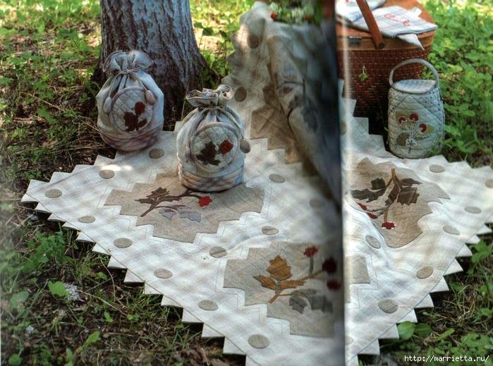 Лоскутное шитье ПЭЧВОРК для дома. Японская книжка с красивыми идеями (8) (700x519, 362Kb)