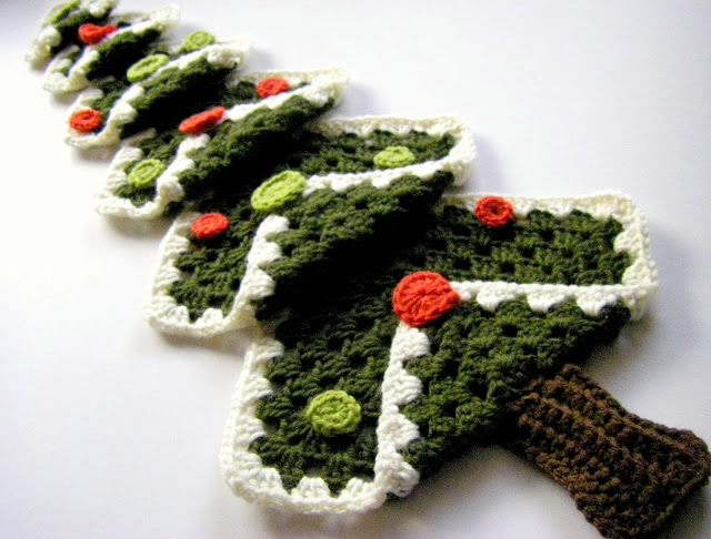 Вязание красивой ёлочки
