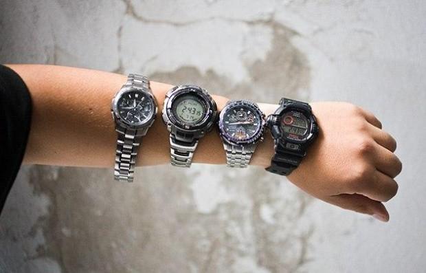 Сегодня в моде снова наручные часы.