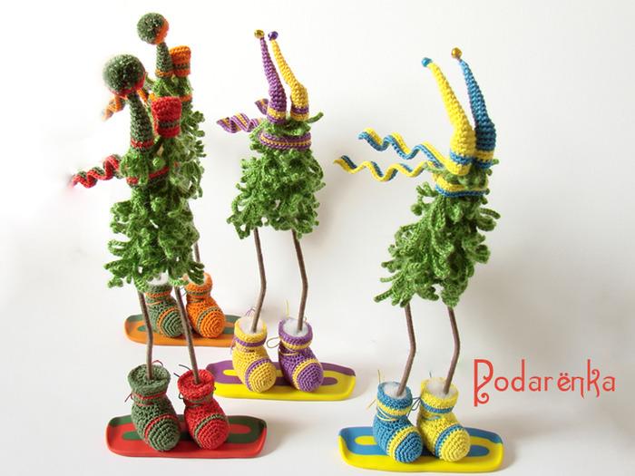 Креативные новогодние игрушки на ёлку своими руками