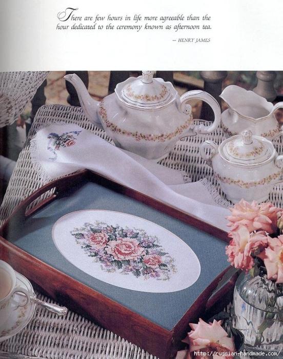 Примеры красивой винтажной вышивки. Журнал со схемами (6) (552x700, 320Kb)