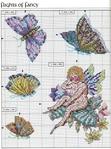 Превью Примеры красивой винтажной вышивки. Журнал со схемами (53) (519x699, 375Kb)