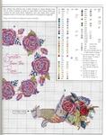Превью Примеры красивой винтажной вышивки. Журнал со схемами (63) (550x699, 339Kb)