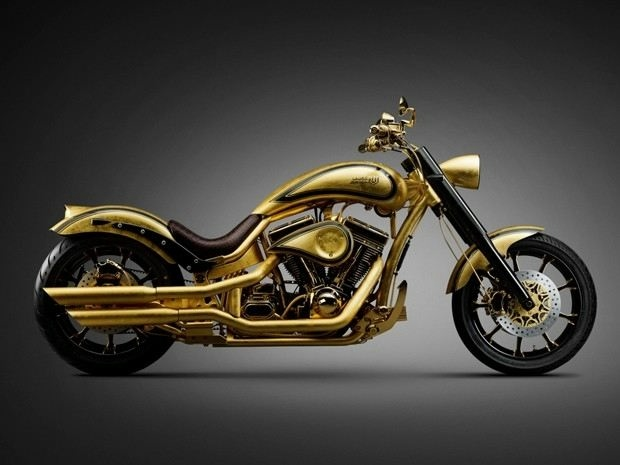 золотой мотоцикл Lauge Jensen фото 5 (620x465, 87Kb)