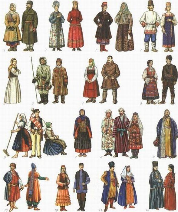 народные костюмы фото коряки