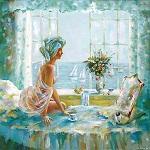 Сивенков Николай. Утренний кофе (150x150, 15Kb)