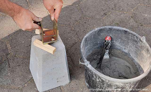 Фундамент для навесов из дерева своими руками