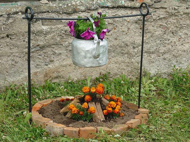 Идеи для сада и огорода своими руками с описанием