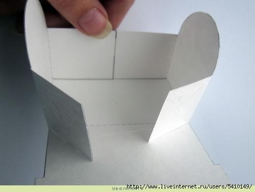 8. Бонбоньерка - треугольная