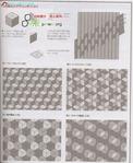 Превью Лоскутное шитье из полосок ткани. Журнал (50) (572x700, 288Kb)