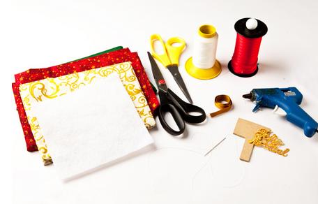 Текстильный рождественский венок. Мастер-класс (1) (456x292, 199Kb)