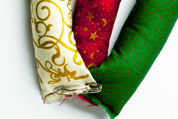 Текстильный рождественский венок. Мастер-класс (3) (695x465, 663Kb)