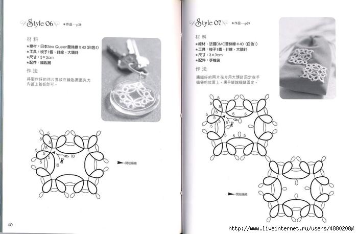Схема серьги фриволите мастер класс