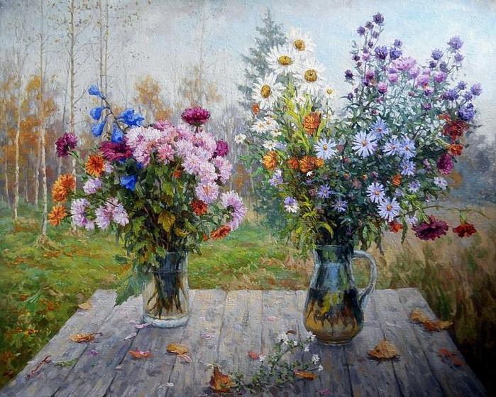 Фомин Никита. Осенние цветы (700x559, 370Kb)