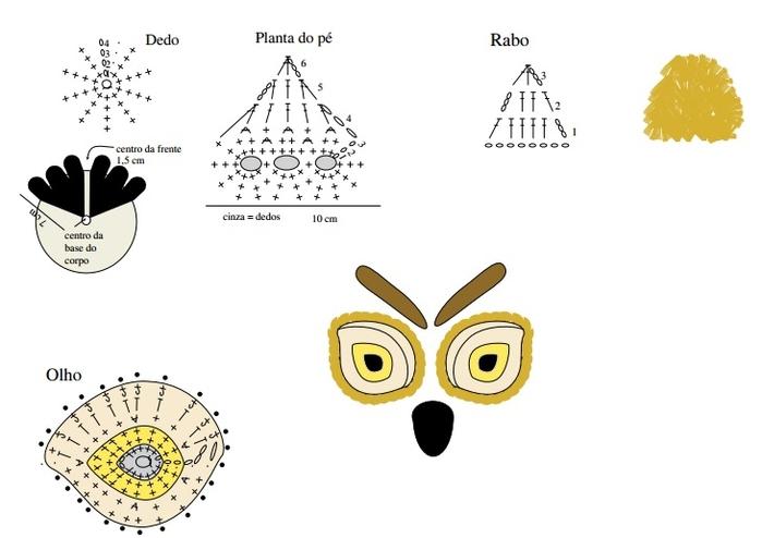 Схема сова как связать