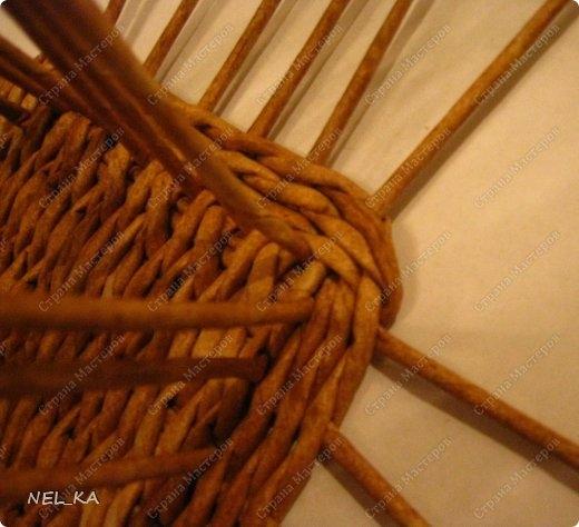 Плетение из газет. Чайный домик. Мастер-класс (4) (520x474, 130Kb)