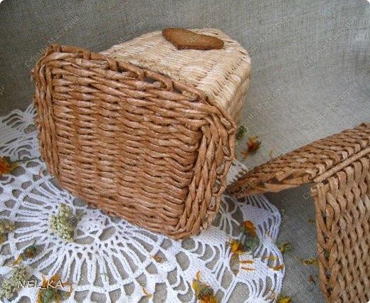 Плетение из газет. Чайный домик. Мастер-класс (32) (520x426, 167Kb)