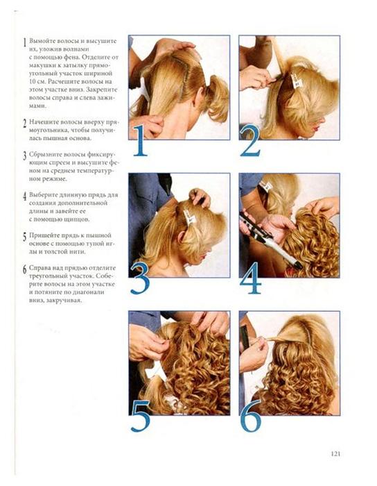 Прическа на длинные волосы кудри своими руками пошаговая инструкция