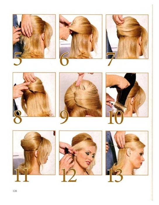 Причёски на каскадную стрижку средней длины своими руками 6