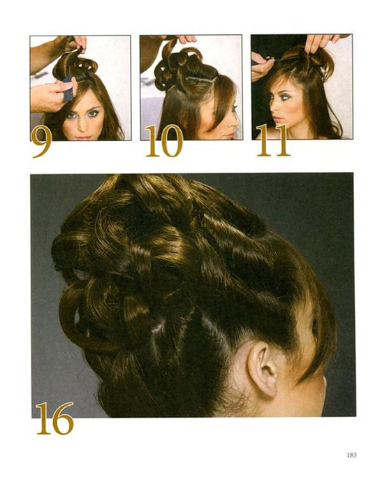 Причёски на средние волосы с чёлкой своими руками фото