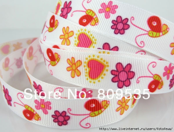 Free-Shipping-5-8-15mm-Printed-Snail-Flower-Heart-pattern-Grosgrain-Ribbon-25yards (600x456, 180Kb)
