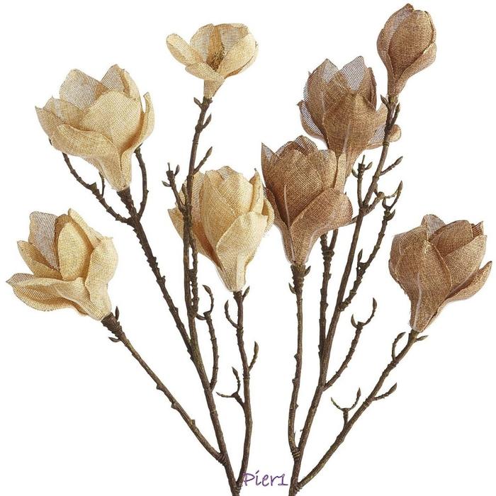 Цветы из мешковины. МАГНОЛИЯ (1) (700x700, 233Kb)
