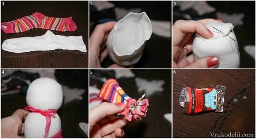 Из чего и как можно сделать снеговика своими руками