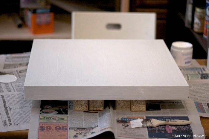 Мебель своими руками. Журнальный столик для любителей кофе (4) (700x465, 193Kb)
