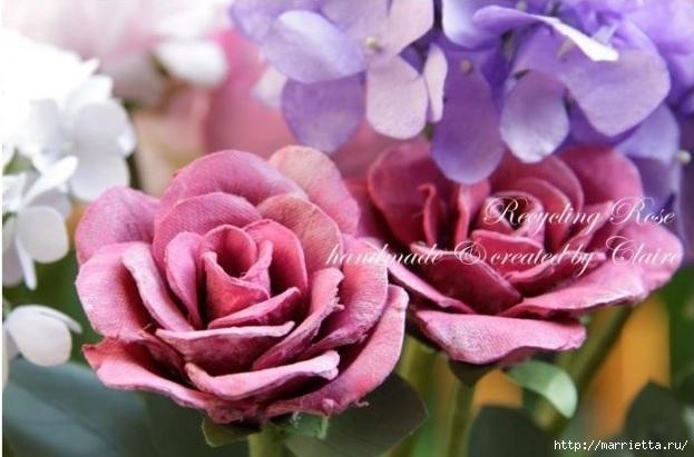 Самые красивые розы из яичных лотков. Мастер-класс (2) (623x411, 145Kb)