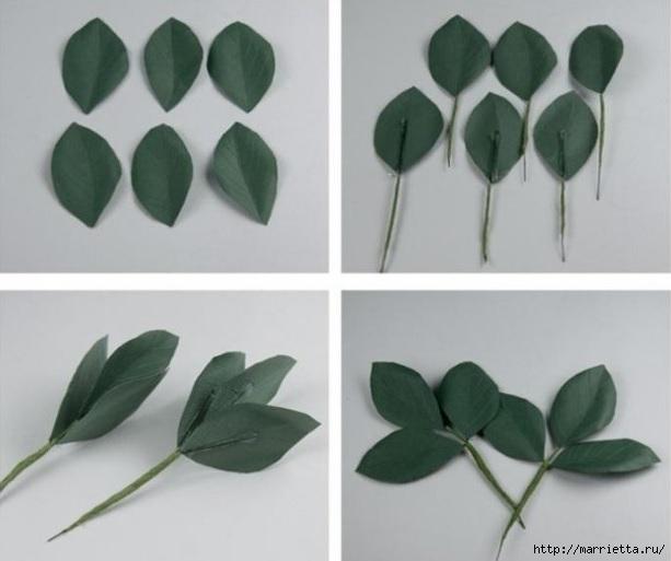 Самые красивые розы из яичных лотков. Мастер-класс (10) (613x513, 109Kb)