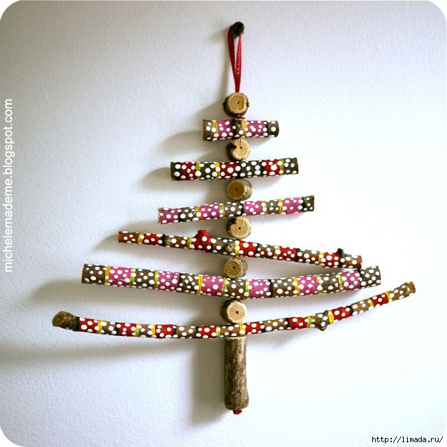 Wooden Stick Christmas Tree 2 (640x640, 193Kb)