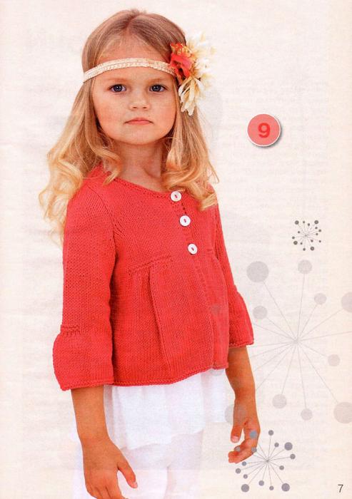 Модные модели вязания для девочек