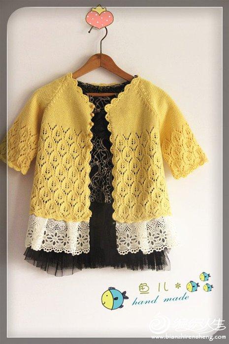 Ажурная кофточка для девочки вязание спицами