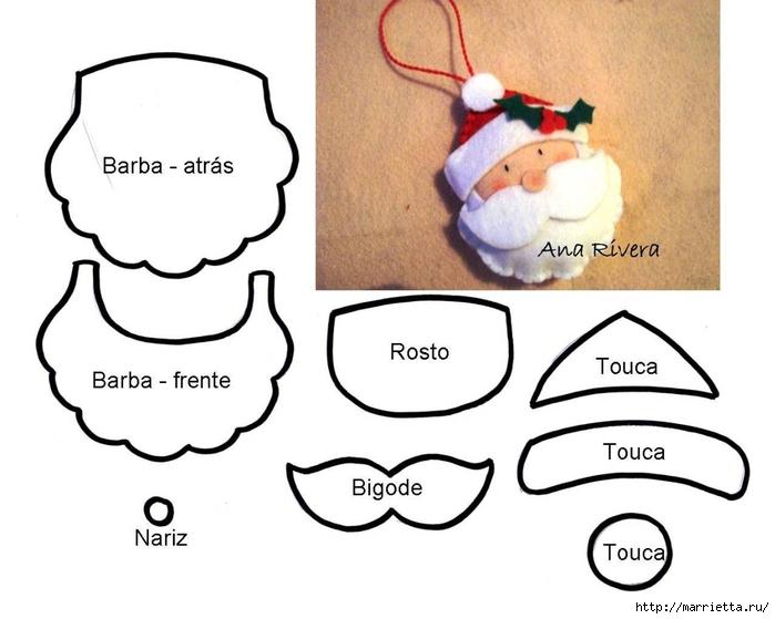 выкройки игрушек из фетра (75) (700x559, 166Kb)