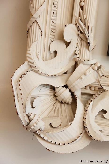 красота из картона- цветы из яичных лотков (9) (465x700, 217Kb)
