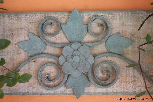 красота из картона- цветы из яичных лотков (36) (500x333, 117Kb)