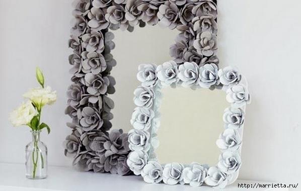 красота из картона- цветы из яичных лотков (106) (598x379, 113Kb)