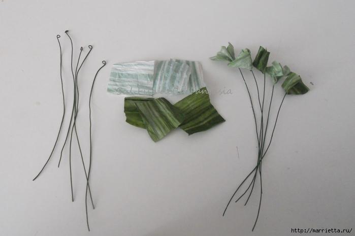 Ароматные корзиночки. Одежка для мыла из бумажной рафии (9) (700x465, 148Kb)