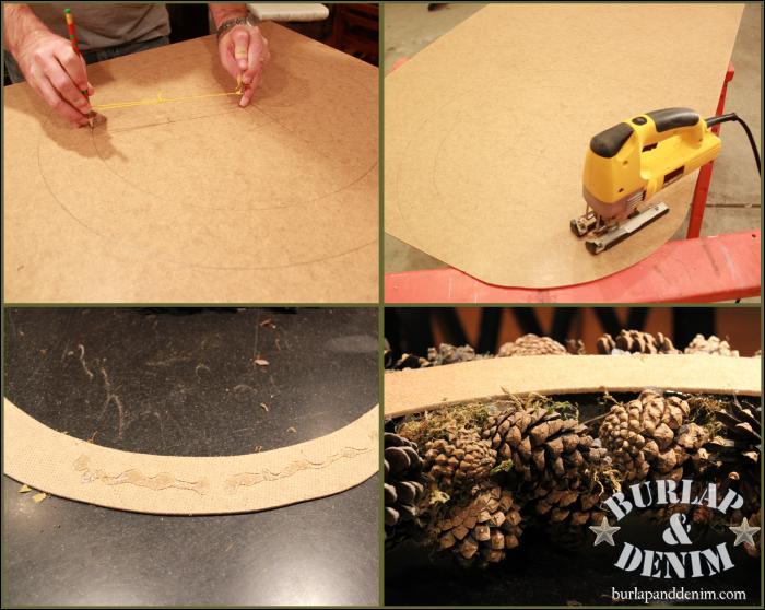 Посмотрим фото мастер-класс по созданию новогодней елочки из шишек.