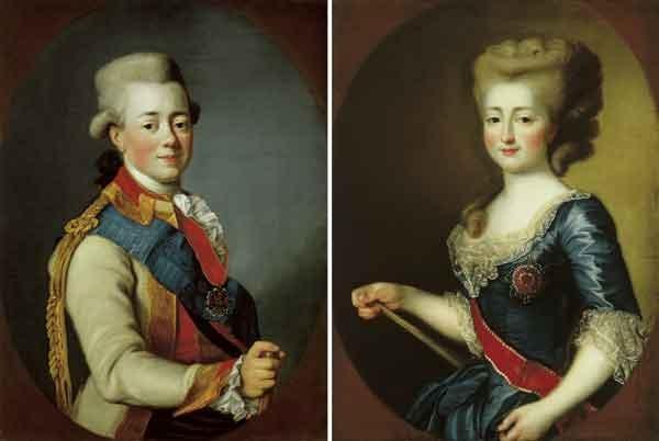 Портреты Великой княгини Марии