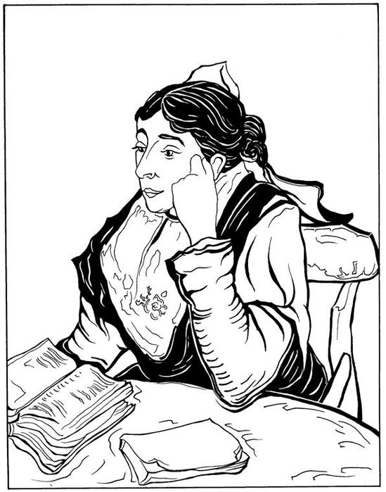 Arlésienne Madam Ginoux 1888 (549x700, 176Kb)