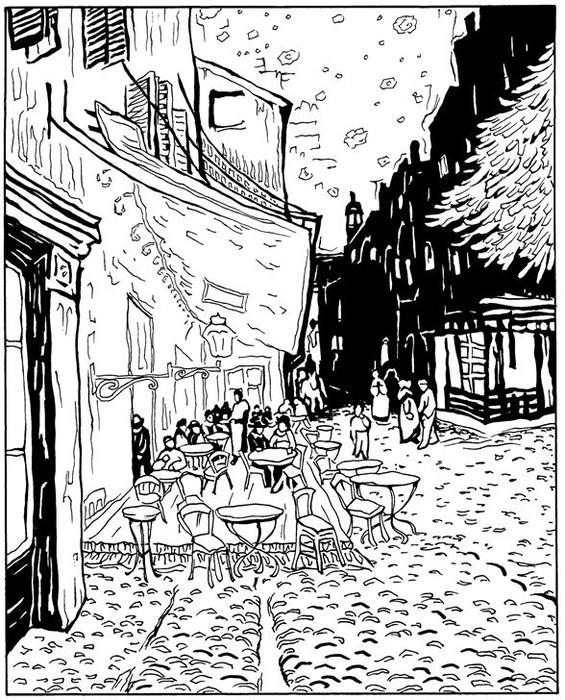 Caféterras bij nacht 1888 (565x700, 316Kb)