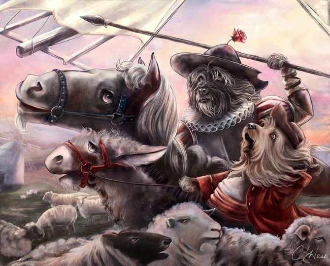 картины художницы Christina Hess 4 (670x539, 301Kb)