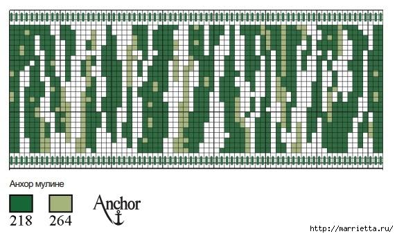 Вышивка на пластиковой канве для осенней сервировки стола (5) (573x341, 160Kb)