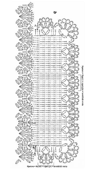 Вязание крючком. Схемы (3) (360x666, 144Kb)